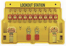 Shop Lockout/Tagout System Products
