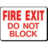 Shop Emergency & Fire Safety Signs