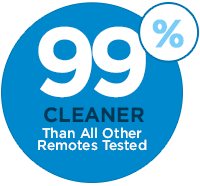 Clean Remotes is 99% Cleaner