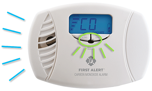 "Alarms may emit an end of life signal or ""chirp"" when the sensors have expired."