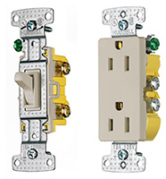Shop Hubbell Standard Switches & Receptacles
