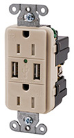 Shop Hubbell USB Charger Receptacles
