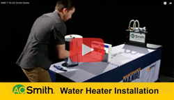 Watch AO Smith® Water Heater Installation