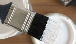 Interior Paint & Preparation Clean Brush