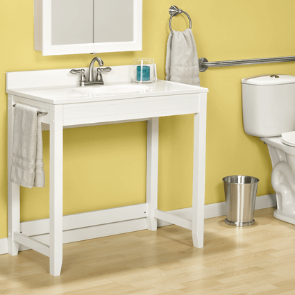 Wheelchair Accessible Bath Vanities