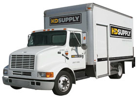 HD Supply Delivery Truck