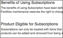 Subscriptions Terms of Use