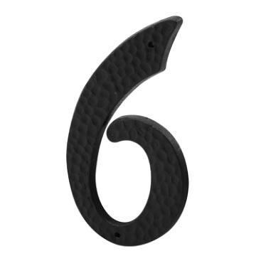 3 in. Black Finish Pack of 2 Plastic Prime-Line MP5039 House Address Number 8