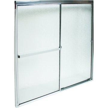 "MAAX® Pivot Shower Door Hammered Glass Pattern 64-1//2H x 32-1//2 To 37/"""