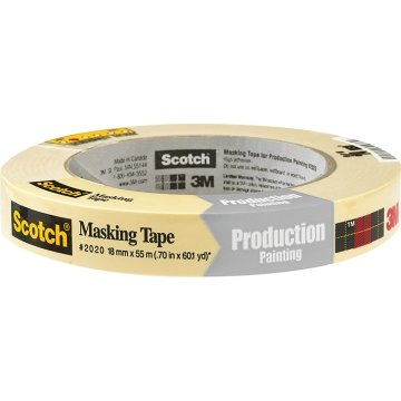 """Details about  /Seal-It General Purpose Masking Tape 2/"""" x 60 yds 3/"""" Core 11073"""