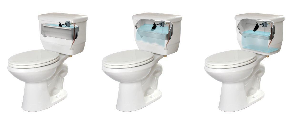 Niagara Conservation® Ecologic™ Flapperless® 1.28 GPF Toilet Tank ...