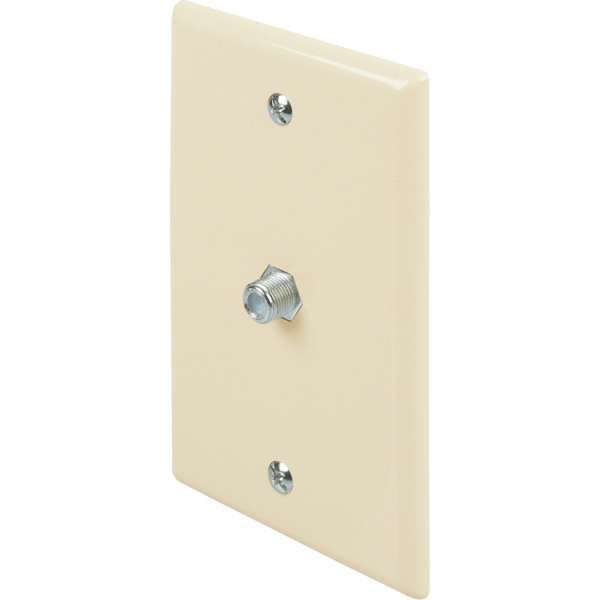 Tv Cable Wall Plate - White - Package Of 25 | eBay