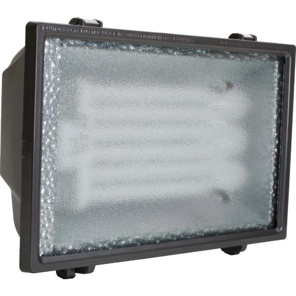 65w cast aluminum bronze fluorescent flood light w. Black Bedroom Furniture Sets. Home Design Ideas