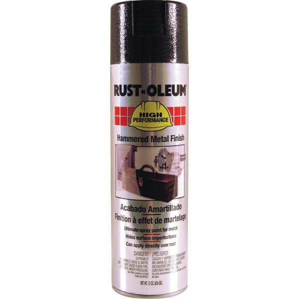 15 Oz Rust Oleum Hammered Metal Spray Paint Black 6 Cs Hd Supply