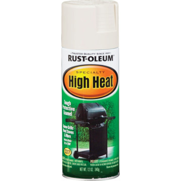 12 oz rust oleum high heat spray paint white hd supply. Black Bedroom Furniture Sets. Home Design Ideas