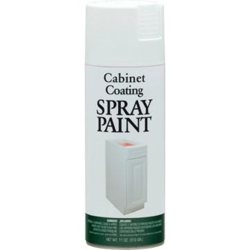 12 oz rust oleum enamel cabinet spray paint white hd for Spray paint kitchen cabinets white
