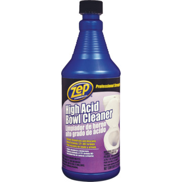 Toilet Bowl Cleaner 32 Ounce Zep High Acid Hd Supply