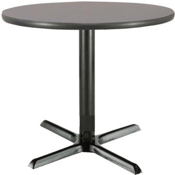 42 inch round pedestal table graphite laminate top cast for 42 inch round pedestal table