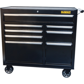 Dewalt 8 drawer 40 inch rolling tool cabinet hd supply for 40 inch kitchen cabinets
