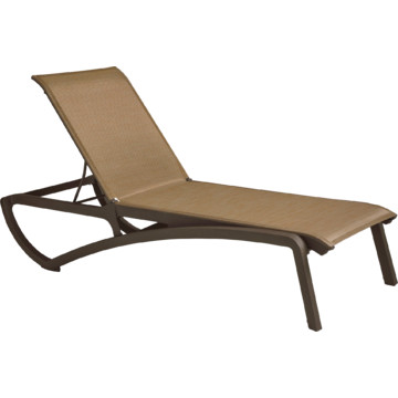Monte carlo chaise lounge cognac fusion bronze package of for Bronze chaise lounge