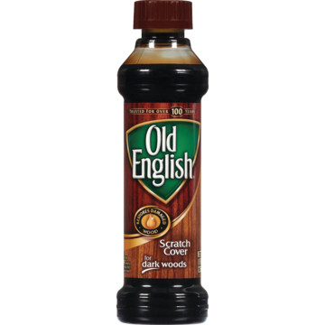 Furniture Polish 8 Ounce Old English Scratch Cover
