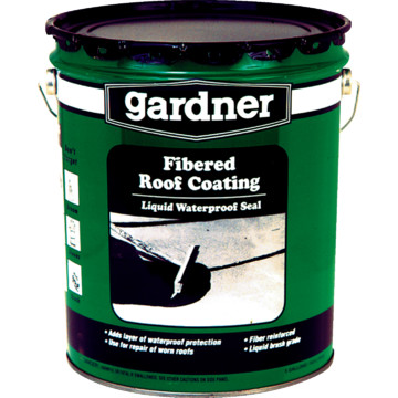 5 Gallon Gardner Fibered Roof Coating Hd Supply