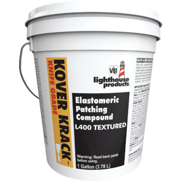 1 Gallon Ge Lighthouse Kover Krack Elastomeric Stucco Patching Compound Hd Supply