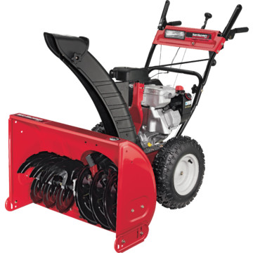 how to start a yard machine snowblower