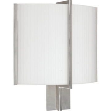 Wall Sconces 277 Volt : LED Delany Wall Sconce, Satin Nickel, 13 Watt, 120 To 277 Volt HD Supply