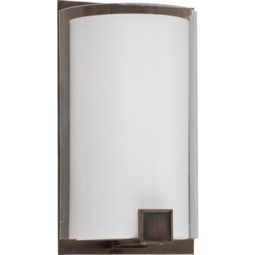 LED Nolan Wall Sconce, 13 Watt, Oakley Bronze, 120 To 277 Volt HD Supply