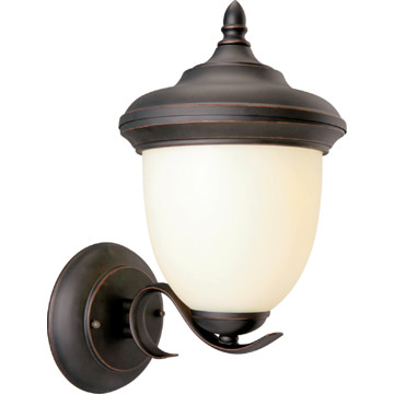 Trevie Outdoor Wall Fixture Oil Rubbed Bronze Finish With