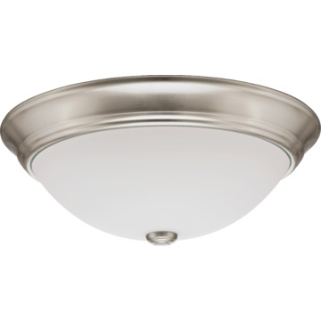 Lithonia Lighting LED Ceiling Fixture 20 Watt Brushed Nickel HD Supply