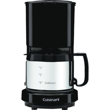 Coffee Pot Recall Cuisinart : Cuisinart 4 Cup Coffeemaker Black Stainless Steel Carafe HD Supply