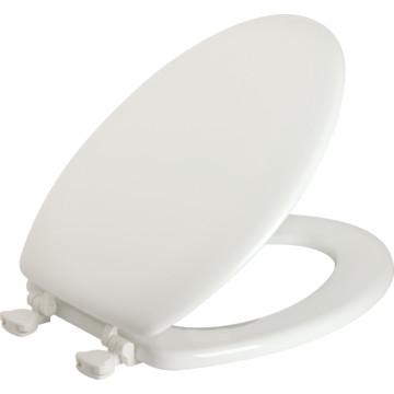 Bemis Wood Elongated Toilet Seat Standard Duty Quick Change Hinge HD Supply