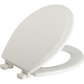 Bemis Wood Elongated Toilet Seat Quick Change Hinge Heavy Duty HD Supply