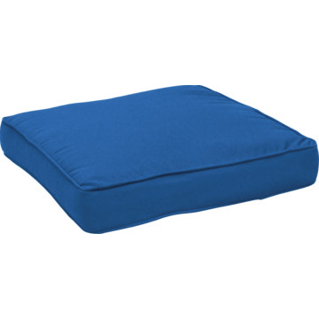 Fiberbuilt Custom Cushion Box Welt Seat Cushion In Sunbrella Spectrum Peacock Hd Supply