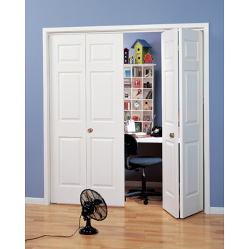 X Primed White  Panel Bi Fold Door