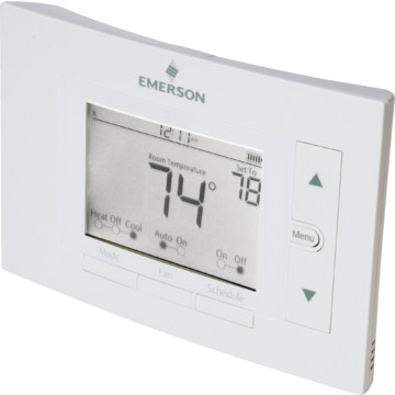 how to connect wires to emerson thermostat 1f86-0244