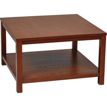 30 Square Cherry Coffee Table In Solid Wood And Wood Veneer Hd Supply