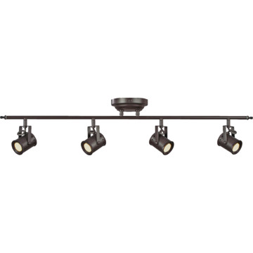 led track light 19 8 watt four light oil rubbed bronze hd supply