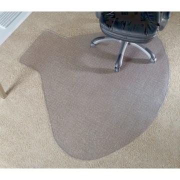 Realspace Hard Floor Chair Mat Rectangular 46 W X 60 D Clear Ask Home Design