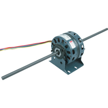 Fasco d291 5 0 1 10 1 40 horse power double shaft blower for Blower motor capacitor symptoms