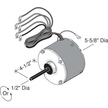 Rheem Condenser Fan Motor 1 5 Hp Hd Supply
