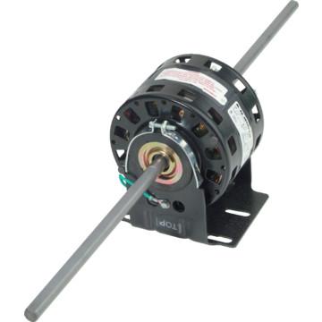 Fasco d347 5 0 1 8 1 20 horse power double shaft blower for Blower motor capacitor symptoms