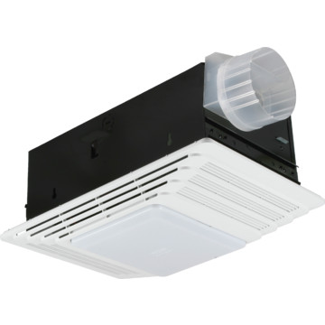 broan nutone 70 cfm exhaust fan and light with heater ebay. Black Bedroom Furniture Sets. Home Design Ideas
