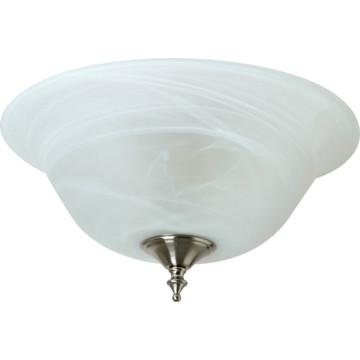 light flush mount fixture alabaster style glass hd supply. Black Bedroom Furniture Sets. Home Design Ideas
