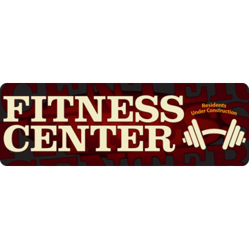 Coordinated Fitness Center Interior Sign, Brown, 9 X 3. Lacunar Stroke Signs Of Stroke. Differently Signs Of Stroke. Chronic Pneumonia Signs. Eyelash Symbol Signs Of Stroke