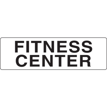 Coordinated Fitness Center Interior Sign, Blackwhite, 9 X. Green Road Signs Of Stroke. Virgo Man Signs. Mimic Signs Of Stroke. Pregnancy Signs. Coronary Signs. Parent Signs Of Stroke. Bathrrom Signs. Hemispheric Signs