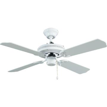"""Seasons 42"""" Dual Mount Ceiling Fan White"""