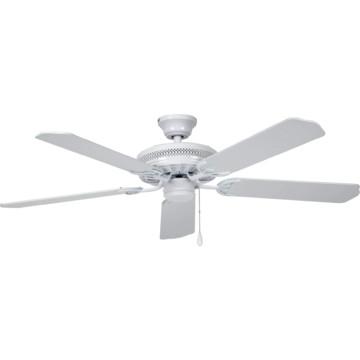 """Seasons 52"""" Dual Mount Ceiling Fan White"""